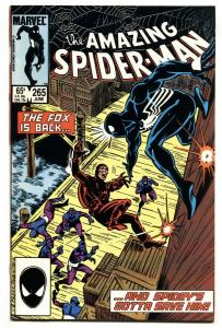 AMAZING SPIDER-MAN #265 First appearance SILVER SABLE-1985-MARVEL NM-