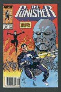 Punisher #22  / 9.0 VFN/NM  Newsstand August 1989