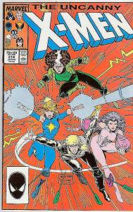 X-Men #218 (Jun-87) NM/NM- High-Grade X-Men