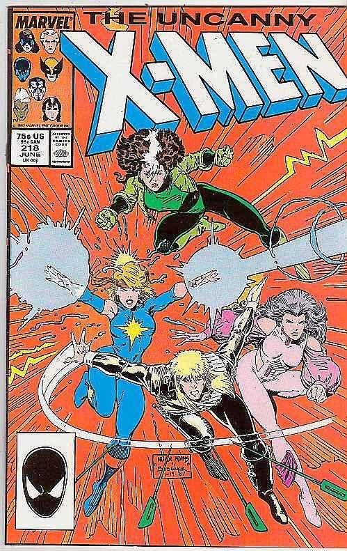 X-Men #218 (Jun-87) NM/NM- High-Grade X-Men