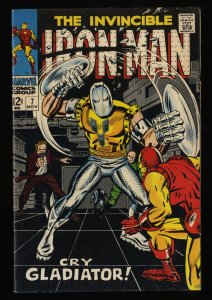 Iron Man #7 FN 6.0 Marvel Comics