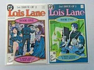 Lois Lane set #1 to #2 all 2 different books 8.0 VF (1986)