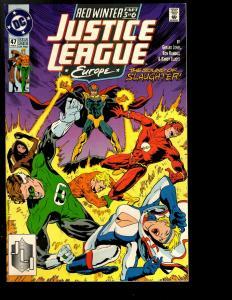 12 Justice League Europe DC Comics # 38 39 40 41 42 43 44 45 46 47 48 49 JF26