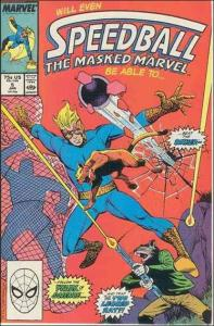 Marvel SPEEDBALL #5 NM