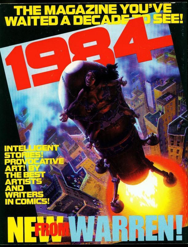 1978 Comic Art Convention Program- Jeff Jones- Kaluta- Wrightson FN/VF