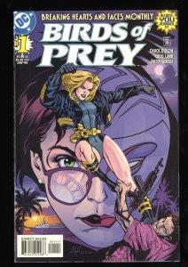 Birds of Prey #1 VF+ 8.5 Oracle & Black Canary!