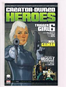Creator-Owned Heroes # 1 VF/NM 1st Print Image Comic Book Palmiotti Niles S63