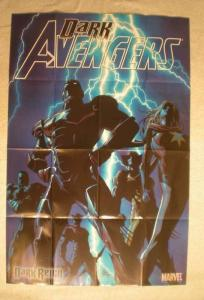DARK AVENGERS Promo Poster, 24 x 36, 2008, Unused, more in our store