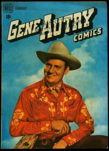 Gene Autry Comics #24 1949- Dell Western Photo cover FN