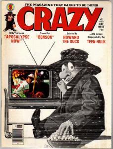 CRAZY (1973) 63 VG-F  June 1980