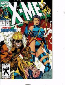 Lot Of 7 X-Men Marvel Comic Book #3 6 25 44 55 56 Manga AB5