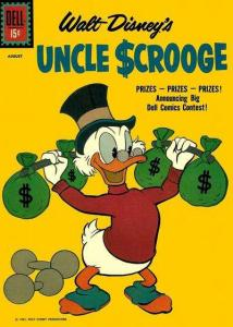 Uncle Scrooge #34, VG- (Stock photo)