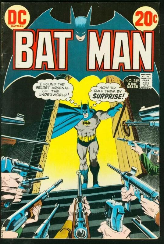 BATMAN #249-1973-DC VF