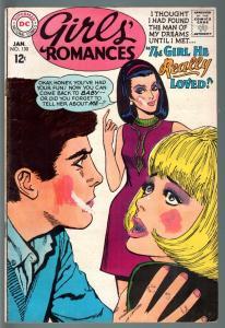 GIRLS' ROMANCES #130-D.C. ROMANCE-SILVER AGE-G G