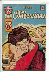 Teen Confessions #94 1976-Charlton-25¢ cover price-motorcycle stories-VF