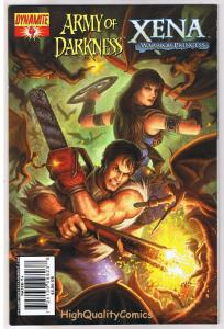 ARMY of DARKNESS / XENA #4, NM+, Warrior Princess, 2008, more AOD in store