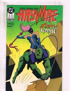 Lot of 5 Haywire DC Comic Books #3 4 5 6 7 TW42