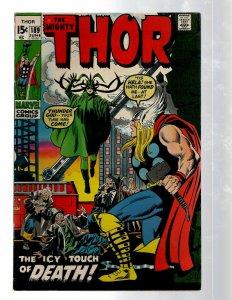 Mighty Thor # 189 VF Marvel Comic Book Loki Odin Asgard Sif Avengers Hulk RB8