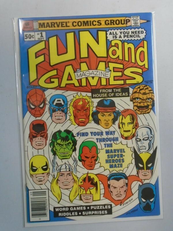 Marvel Fun and Games #1 7.5 FN- (1979)
