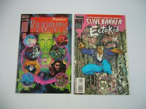 Ectokid #1 VF/NM clive barker + razorline first cut