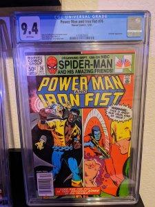Power Man and Iron Fist #76 (1981) CGC 9.4
