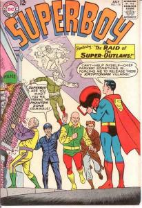 SUPERBOY 114 VF-  July 1964 COMICS BOOK