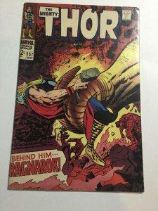 Thor 157 Fn Fine 6.0 Silver Age Marvel Comics