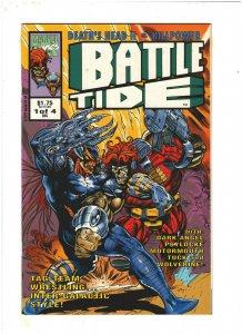 Battletide #1 VF+ 8.5 Marvel UK Comics 1992 Death's Head II & Killpower