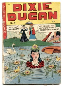 Dixie Dugan #9 1948- Golden Age comic- spicy art G-