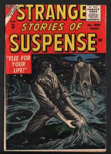 STRANGE STORIES OF SUSPENSE #10 1956-ATLAS-REED CRANDALL-ANGELO TORRES-NICE COPY
