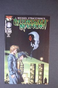 Midnight Nation #9 January 2002 1st Printing j. Michael Stra