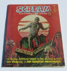 Scream #9 VF- 1974 Skywald Horror Magazine Strange Weird Crazy Frightening Scary