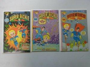 Super Richie lot 3 different 4.0 VG (1975-76 Harvey Comics)