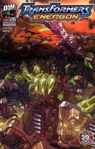 Transformers Energon #26 VF/NM; Dreamwave | save on shipping - details inside