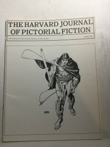The Harvard Journal Of Pictorial Fiction Nm- Near Mint- Spring 1974
