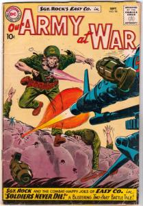 Our Army at War #98 (Sep-60) VG Affordable-Grade Easy Company, Sgt. Rock
