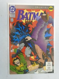 Batman #492 Knightfall part 1 8.0 VF (1993)