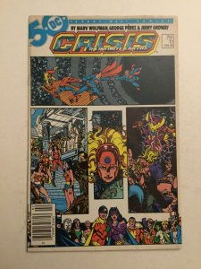 Crisis On Infinite Earths 11 Fn/vf Fine/very Fine 7.0 Newsstand Dc
