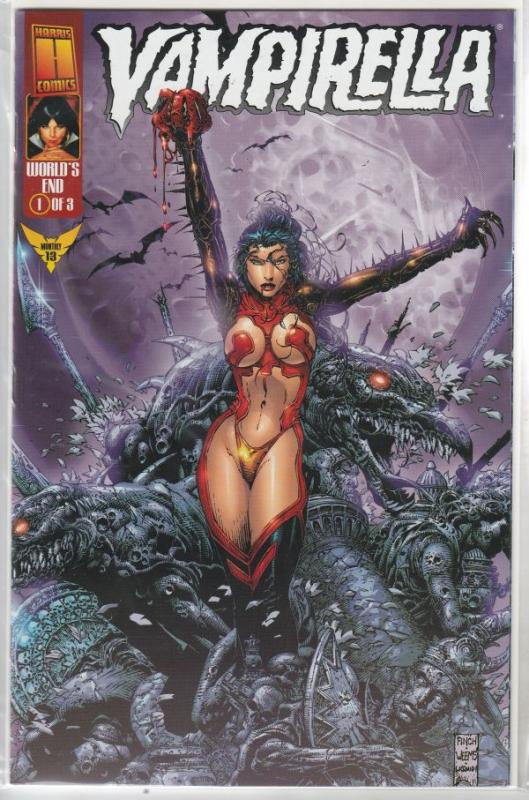 Vampirella Monthly World's End set #1to3 (Mar-99) NM Super-High-Grade Vampirella