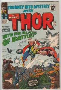 Journey into Mystery #117 (Jun-65) VG Affordable-Grade Thor