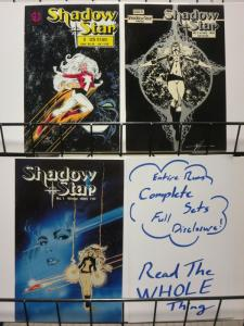 SHADOWSTAR (1985 SV) 1-3 SHAPIRO/SAVAGE;CVRS BY CIROCCO