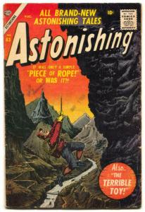 Astonishing #63 1957- Atlas comics -last issue- VG