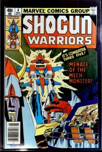 Shogun Warriors #4 (1979)