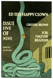 ED the HAPPY CLOWN #5, NM, Chester Brown, 2006, more indies in store