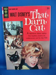 THAT DARN CAT 1 Fine Haley Mills Photo Cover 1963