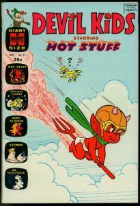 DEVIL KIDS STARRING HOT STUFF COMICS #5--Biplane cover-1971-STUMBO VF