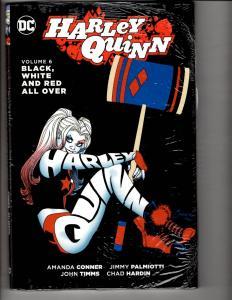 Harley Quinn Vol. # 6 Black White Red DC HARDCOVER SEALED Graphic Novel J296