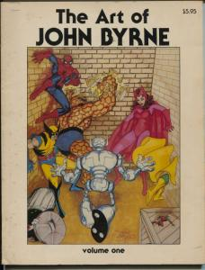 Art of John Byrne #1 1980-1st issue-art-interview-checklist-VG+