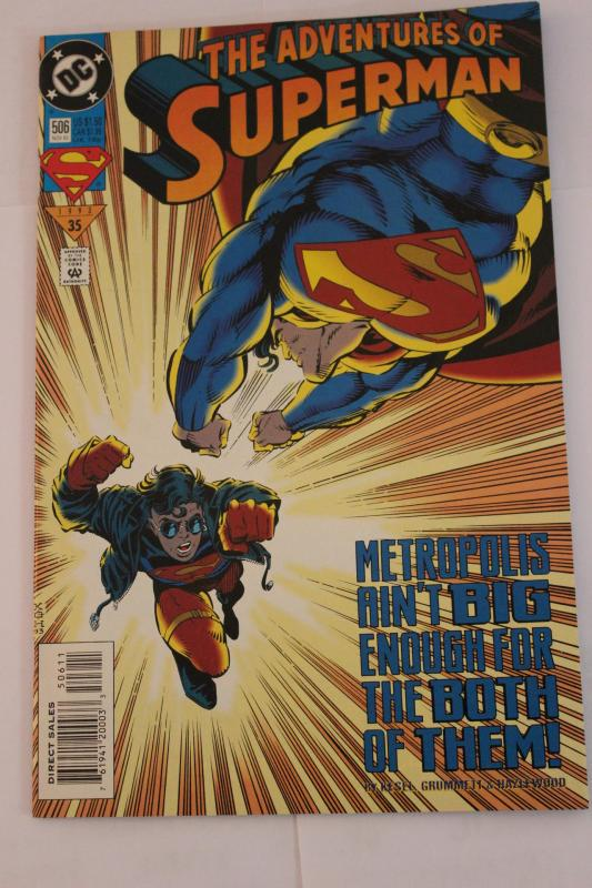 Adventures of Superman 506 9-4-nm