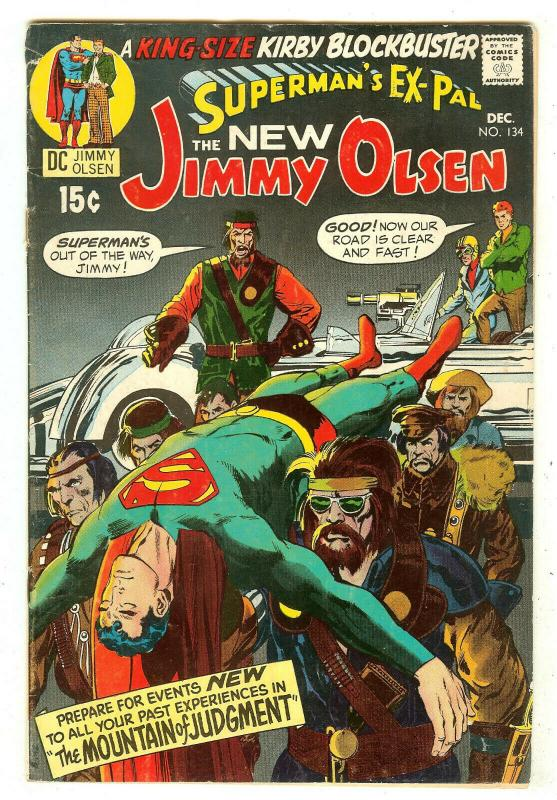 Superman's Pal Jimmy Olsen 134   1st Darkseid   Neal Adams cover
